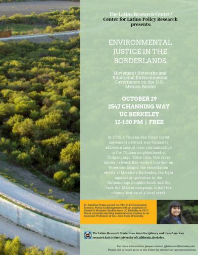 LRC Environmental Justice Borderlands Events
