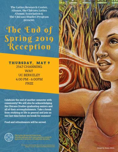 May 9 _ Spring reception