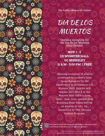 Nov 1 _ Dia de los muertos