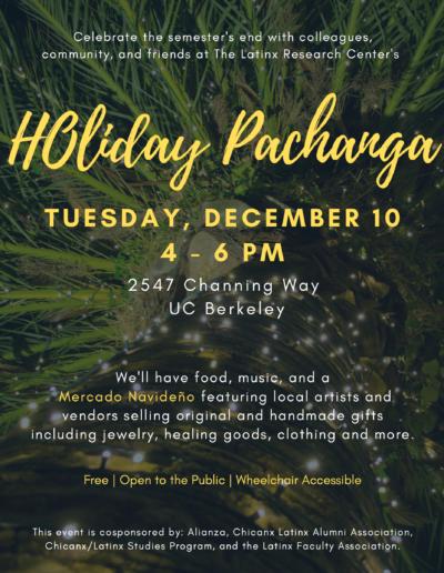 Holiday Pachanga Flyer