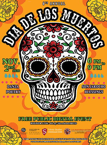 Stanislaus State's 6th Annual Day of the Dead